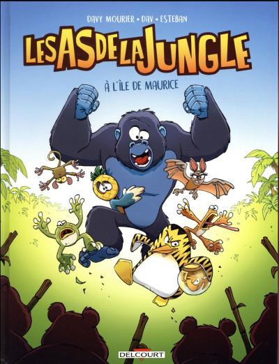 Couverture Les as de la jungle tome 1