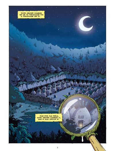 Page 1 Les as de la jungle tome 1