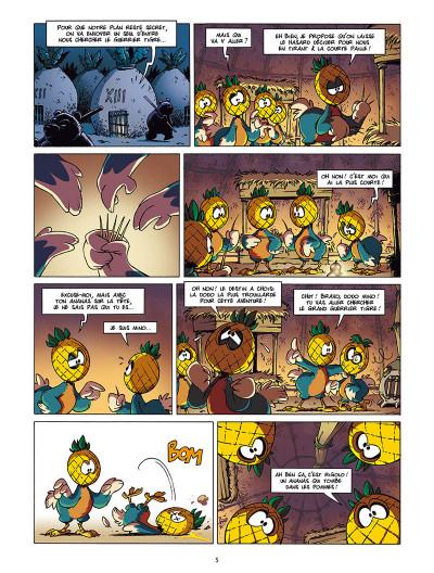 Page 3 Les as de la jungle tome 1