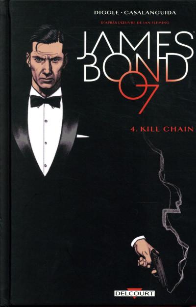 Couverture James Bond tome 4