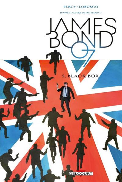Couverture James Bond tome 5 + ex-libris offert