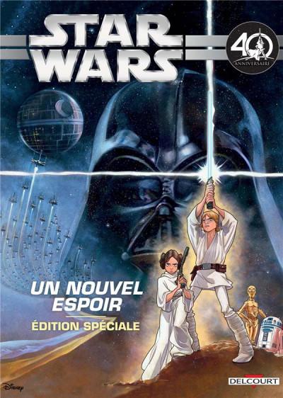 Couverture Star Wars - épisode IV - spécial 40e anniversaire