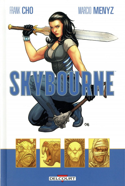 Couverture Skybourne