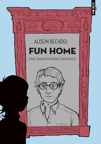 Couverture Fun Home - Une Tragicomédie Familiale - Format Poche