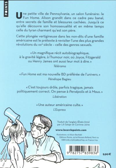 Dos Fun Home - Une Tragicomédie Familiale - Format Poche
