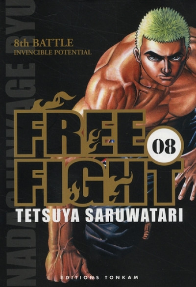 image de free fight tome 8
