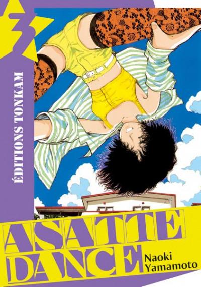 Couverture asatte dance tome 3