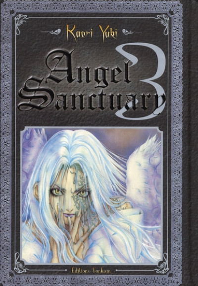 Couverture angel sanctuary tome 3 luxe
