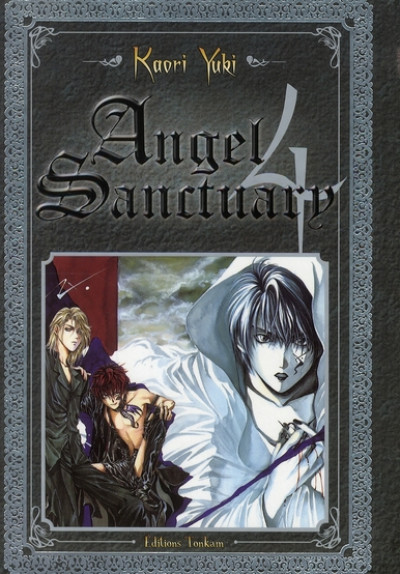 Couverture angel sanctuary tome 4 luxe