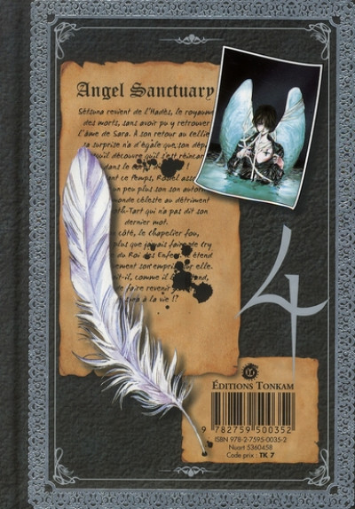 Dos angel sanctuary tome 4 luxe