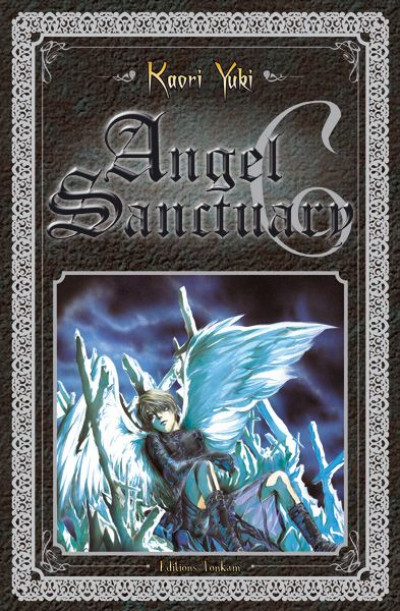 Couverture angel sanctuary tome 6 luxe