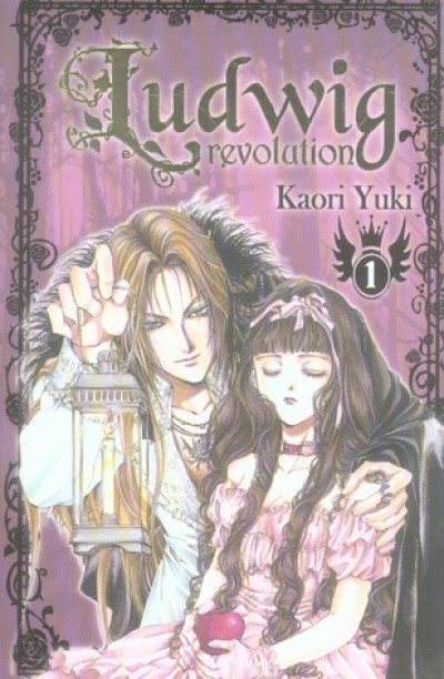 Couverture ludwig revolution tome 1