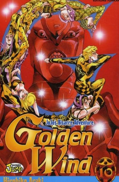 Couverture golden wind - jojo's bizarre adventure tome 10