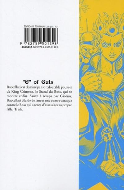Dos golden wind - jojo's bizarre adventure tome 10