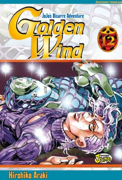 Couverture golden wind - jojo's bizarre adventure tome 12