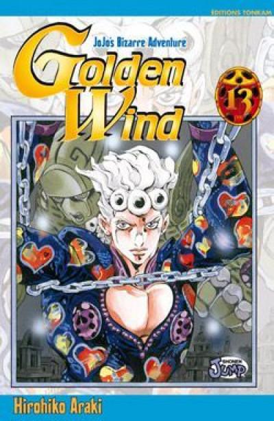 image de golden wind - jojo's bizarre adventure tome 13