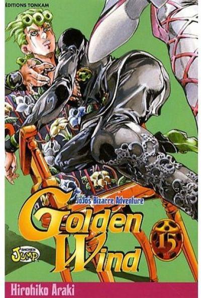 Couverture golden wind - jojo's bizarre adventure tome 15