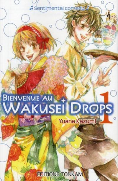 Couverture bienvenue au wakusei drop ! tome 1