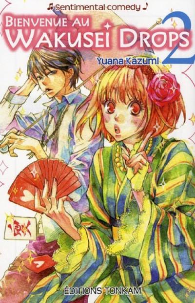 Couverture bienvenue au wakusei drop ! tome 2