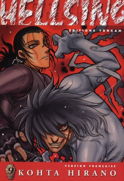 Couverture hellsing tome 9