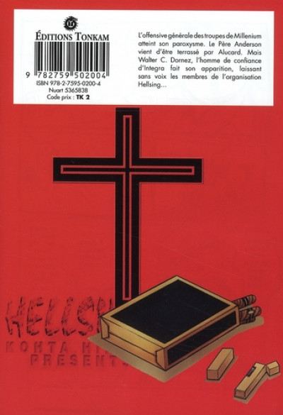 Dos hellsing tome 9