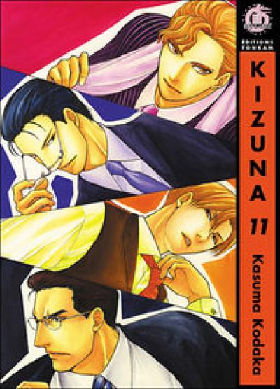 Couverture kizuna tome 11