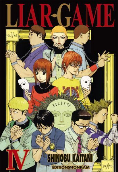 Couverture liar game tome 4
