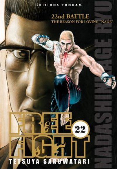 Couverture free fight tome 22