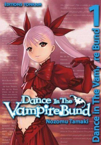 Couverture dance in the vampire bund tome 1