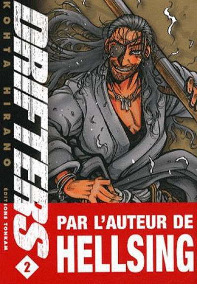 Couverture drifters tome 2