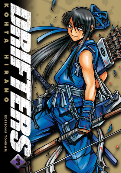 Couverture drifters tome 3
