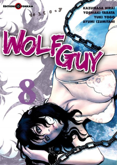 Couverture wolf guy tome 8