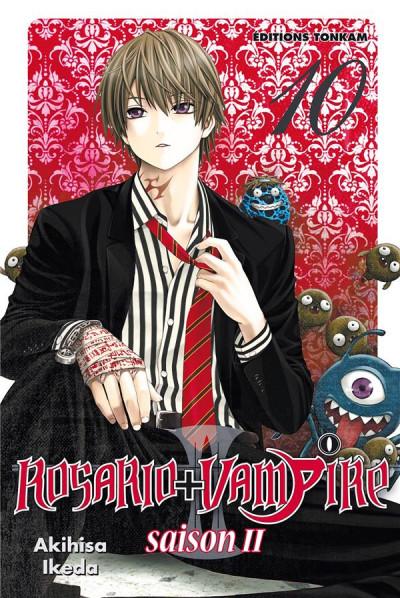 Couverture Rosario + vampire saison II tome 10