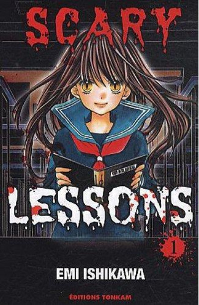 Couverture scary lessons tome 1
