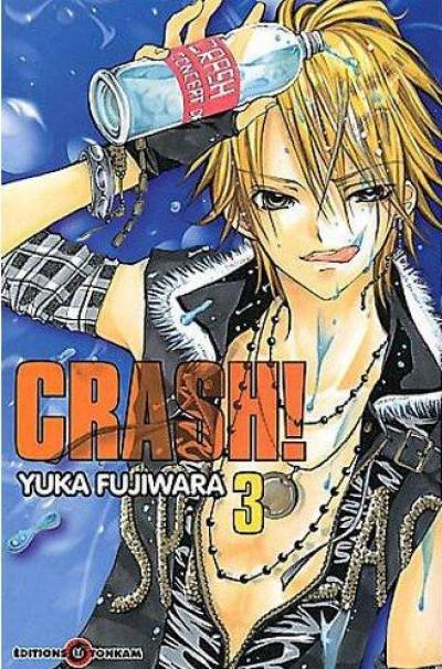 Couverture crash tome 3