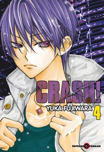 Couverture crash tome 4
