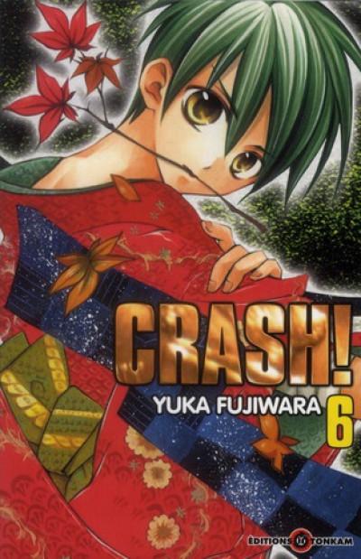 Couverture crash tome 6