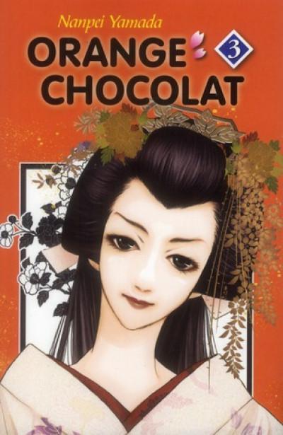 Couverture orange chocolat tome 3