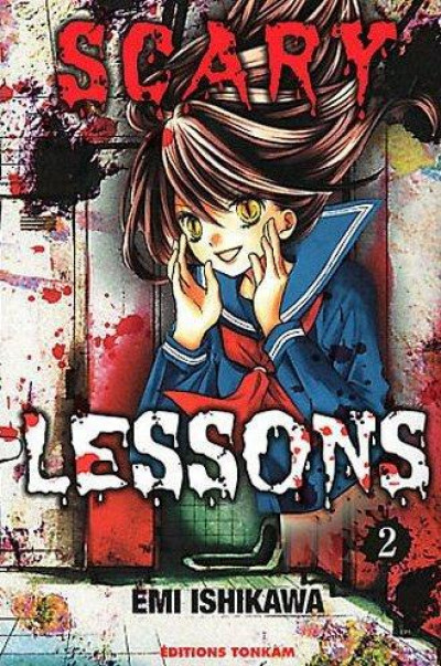 Couverture scary lessons tome 2