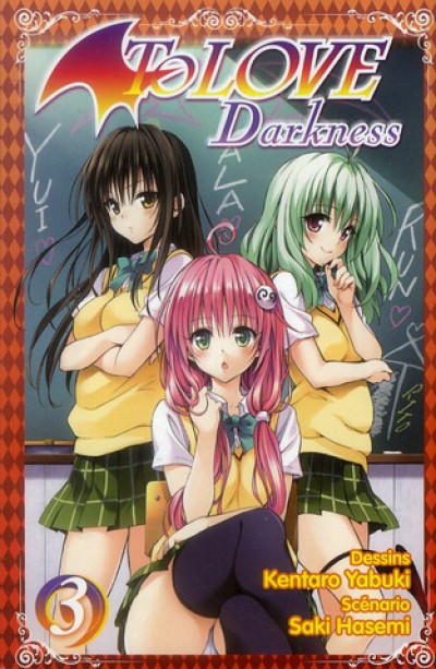 Couverture to love darkness tome 3