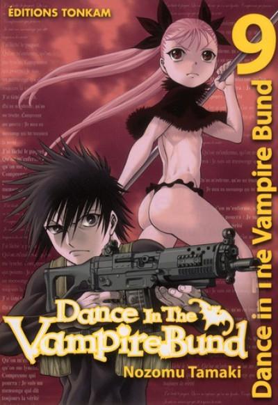 Couverture dance in the vampire bund tome 9