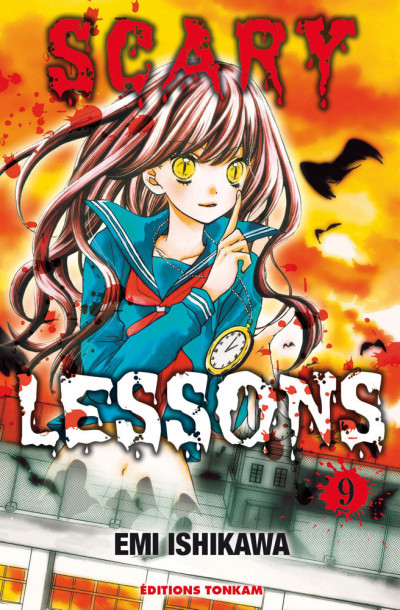 Couverture Scary lessons tome 9