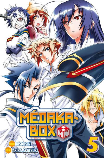 Couverture médaka-box tome 5