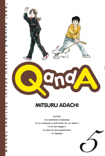 Couverture Q and A tome 5
