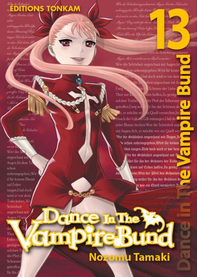 Couverture dance in the vampire bund tome 13