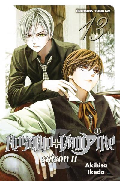 Couverture Rosario + vampire saison II tome 13