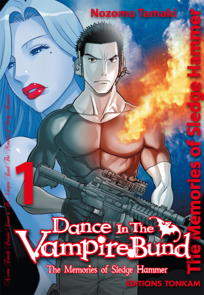 Couverture dance in the vampire bund - sledge hammer tome 1