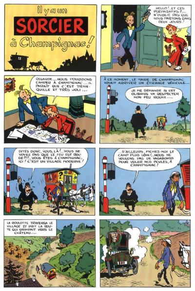 Page 3 spirou et fantasio tome 2 - il y a un sorcier à champignac
