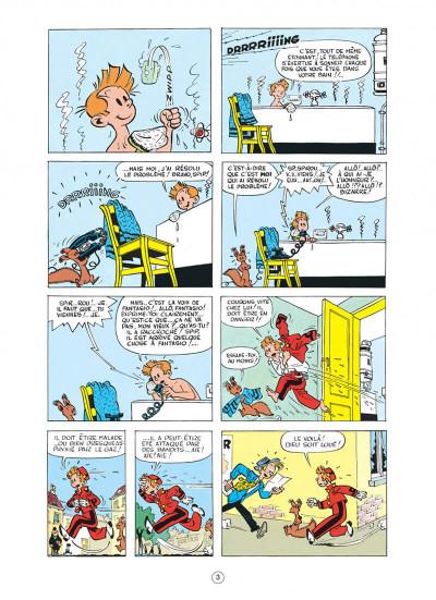Page 3 spirou et fantasio tome 4 - spirou et les héritiers