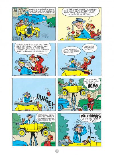 Page 9 spirou et fantasio tome 4 - spirou et les héritiers
